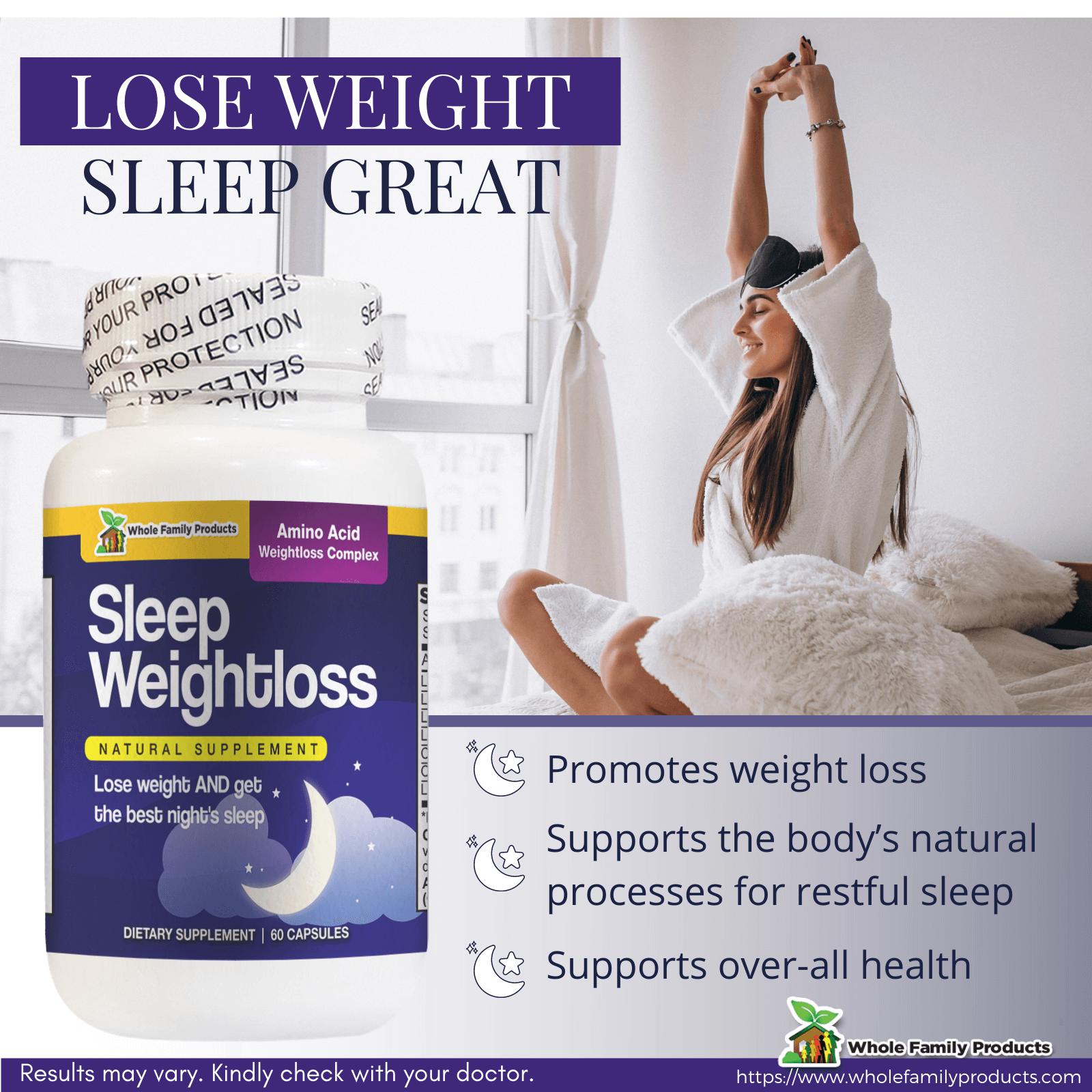Sleep WeightLoss Supplements Infographics